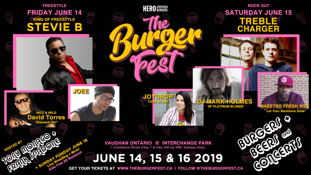 The Burger Fest Vaughan Interchange Park